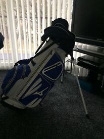 Mizuno elite pro stand bag tour colours . 2016 model only used once