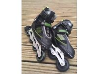New No fear rollerblades