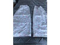John Lewis Little Home pleat curtains pair