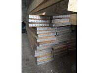 59 scaffolding boards.