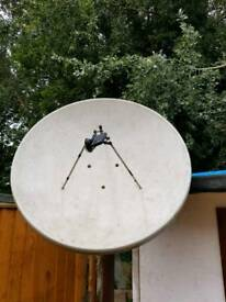 Foreign channels satellite dish