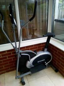 DTX fitness cross trainer and bike