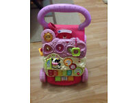 baby walker+ baby toys