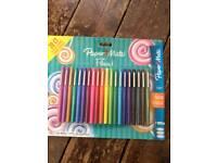 Papermate Flair Felt Tip Pens 20 pack - NEW