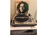 x2 DJ Decks (Kam) & Stereo System