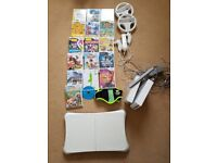 Nintendo Wii, x 2 Consoles with Box, Wii Fit, various Games, Zumba Belt