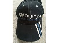 Triumph Black British Supersport Baseball Hat