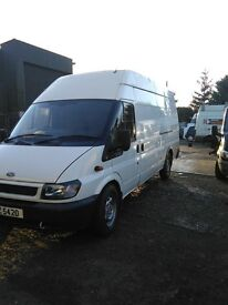 03 Transit jumbo full psv very clean and tidy