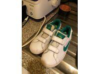 Size 1 boys Nike trainers