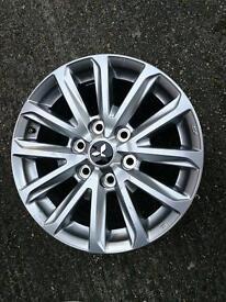 "Mitsubishi L200 Barbarian 17"" brand new alloy wheels"