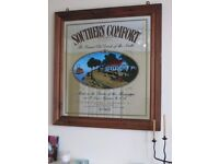 Southern Comfort classic mirror