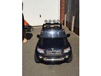 Black Ford Ranger 12v Electric Car
