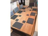 16 Piece Slate Dining Set