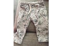 2 pairs boys 9-12 months Riverisland minis & F&F