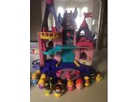 Fisher price Disney princess castle and figures