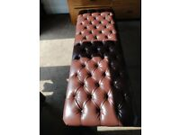 Long chesterfield style chair