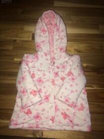 0-3 month baby girl coat