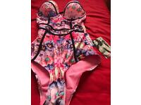 Ladies floral swimsuit