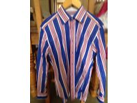 Striped shirt size