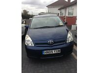 Toyota Corolla Verso 1.6 Petrol 7 seater lady owner (family owned)