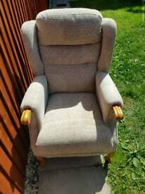 Oap high back chair
