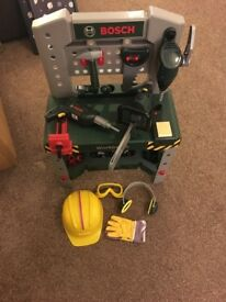 Toy Bosch Workbench With loads of Extras!