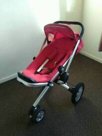 Quinny pushchair and car seat maxi cosi