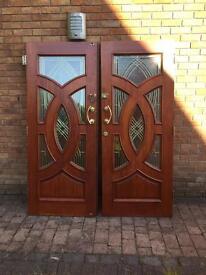 Stunning pair of Front doors