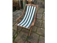Wooden deck chair Coulsdon Surrey near Croydon
