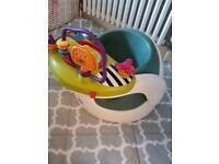 Mamas and papas bamboo seat with toys tray