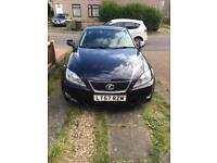 Lexus 2007 (57) plate, model IS 220d 2.2 TD 4dr Saloon Low Milage, one Year MOT