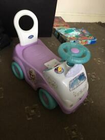 Kids car / Kiddieland Girls Disney My First Frozen Toddler Activity Ride-On Push Car
