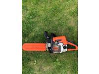 Stihl 023 chainsaw 14inch bar and chain good machine call on 07561417906
