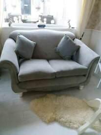 Beautiful sofa soft grey