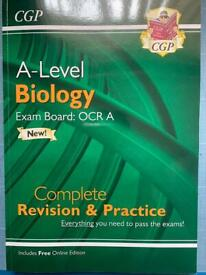 A level biology OCR A complete revision & practice