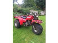 Honda big red trike atv quad bike rare 250cc