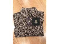 LIBERTY designer shirt- collar size 17 (brand new/never worn)