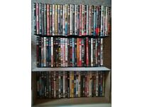 Set of more than 90 DVD's Movies