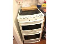 Creda menu 350 double oven ceramic