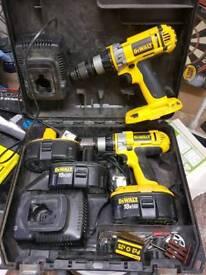 Dewalt 18v battery drill