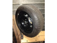 STEEL SPARE WHEEL FOR VW PASSAT ESTATE WITH TYRE