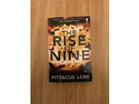 The Rise of Nine by Pittacus Lore (Paperback) NEW Book
