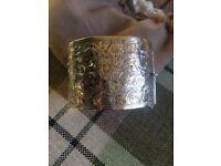 Silver Cuff Bracelet 1938