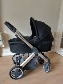 Oyster 1 pram and pushchair