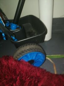 Blue kids trike