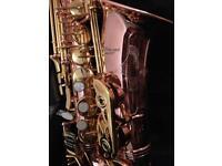 Alto saxophone - Pink French Flamingo