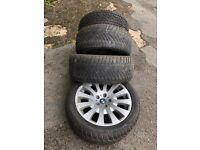 BMW Winter tyres and rims