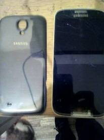 Samsung S4 with broken screen