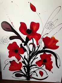Original Canvas Painting by Michelle Luters