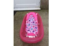 Newborn to Toddler Bath Tub in Pink